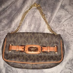 MK large chain shoulder bag
